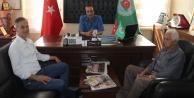 Akçalıoğlu#039;dan Musluoğlu ziyareti