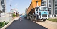 Alanya Belediyesi#039;nden sıcak asfalt atağı