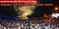 Alanya#039;da 19 Mayıs#039;a muhteşem kutlama