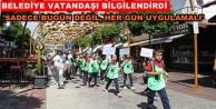 Alanya'da Çevre Festivali kutlandı