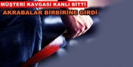 Alanya#039;da restorancılar bıçakla birbirine girdi