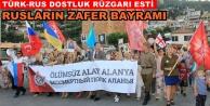 Alanya'da Rus Bayramı kutlandı