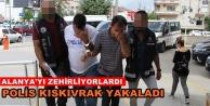 Alanyada uyuşturucu operasyonu: 2 gözaltı