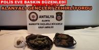 Alanya'daki zehir taciri yakalandı