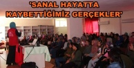Alanyalı gençlere anlamlı konferans