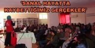 Alanyalı gençlere anlamlı konferans