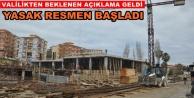 Antalya genelinde inşaat yasağı başladı!