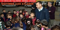 Başkan Yücel#039;den 4 yılda eğitime büyük destek