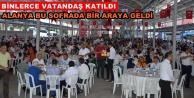 Büyükşehir#039;den Alanya#039;da iftar sofrası