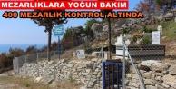 Büyükşehir#039;den mezarlık bakımı