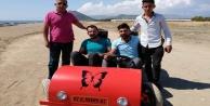 Gazipaşalı gençler 'Mıdış Mobil'i üretti