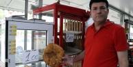 Marketçi Ragıp, Ramazan#039;da da iş başında! Pide 1 lira