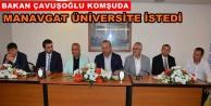 MATSO Bakan Çavuşoğlu#039;nu ağırladı