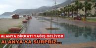 Meteoroloji#039;den Alanya#039;ya kritik uyarı!