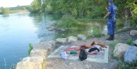 Piknik yaparken ırmağa düşen 5 yaşındaki çocuk kayboldu