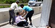 2 kamyonet çarpıştı: 1 ölü, 6 yaralı