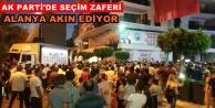 Alanya AK Parti#039;de zafer coşkusu