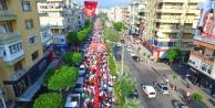 Alanya AK Partiden görkemli istikrar yürüyüşü