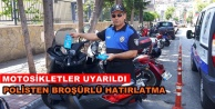 Alanya#039;da polisten takdir toplayan uygulama