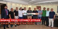 Alanyaspor'da protokol ziyaretleri sürüyor