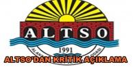 ALTSO#039;dan af yasası duyurusu!