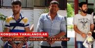 Aranan 3 kişi Alanya Cezaevine gönderildi