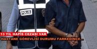 Aranan şüpheli Alanya#039;da hastanede yakalandı