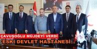 Bakan Çavuşoğlu#039;ndan hastane ziyareti