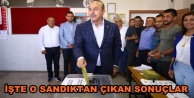 Bakan Çavuşoğlu#039;nun sandığı açıklandı