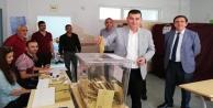 Başkan Türkdoğan oyunu kullandı