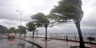 Batı Akdenizde fırtına uyarısı