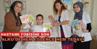 Çocuklara hem eğitici hemde eğlenceli tedavi