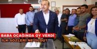 Dışişleri Bakanı Çavuşoğlu oyunu memleketi Alanya#039;da kullandı