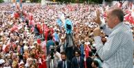 Erdoğanın Antalya mitingine Büyükşehirin projeleri damga vurdu