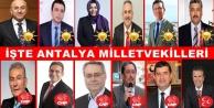 İşte Antalya#039;dan milletvekili olan isimler!