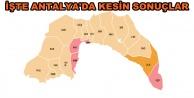 İşte Antalya#039;nın ilçe ilçe seçim sonuçları!!!