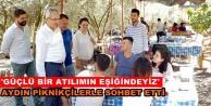 """Milletvekili Aydın: İstikrarın güvencesi AK Parti"""""""