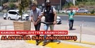 10 yıl hapis cezası bulunan şahıs Alanya#039;da yakalandı