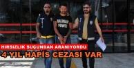 Alanya#039;da aranan hırsız polis tarafından yakalandı