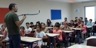 Alanya#039;da gençler ok atmayı öğreniyor