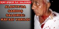 Alanya#039;da yaşayan şaire şişeli saldırı