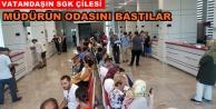Alanya SGK#039;da vatandaş isyan etti