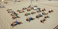Alanyalı gençler yazı sporla geçiriyor
