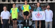 Belediyesporlu triatletler Ünyeden ödülle döndüler