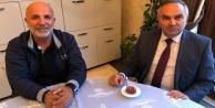 Çavuşoğlu#039;na belediye başkanlarından ziyaret