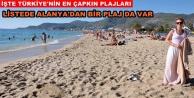 En çapkın 10 plaj listesinde Alanya#039;da var