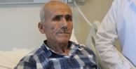 Hastaya deprem etkisi hissettiren dev damar anjiografik yöntemle kapatıldı