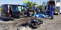 Motosiklet yine can aldı: 1 ölü 2 yaralı var