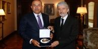 Mustafa Tuna#039;dan Çavuşoğlu#039;na #039;hayırlı olsun#039;