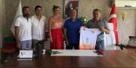 Odessa eski başkanından ziyaret